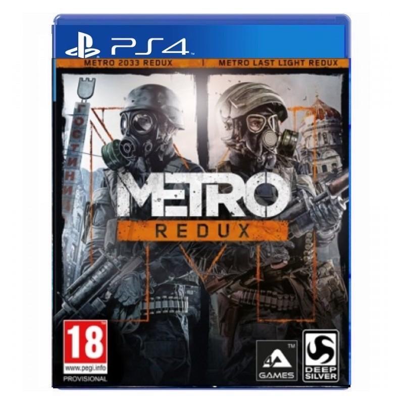 بازی Metro Redux برای پلی استیشن 4 PS4