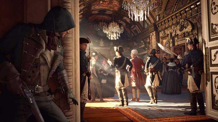 بازی Assassins Creed Unity برای پلی استیشن 4 PS4