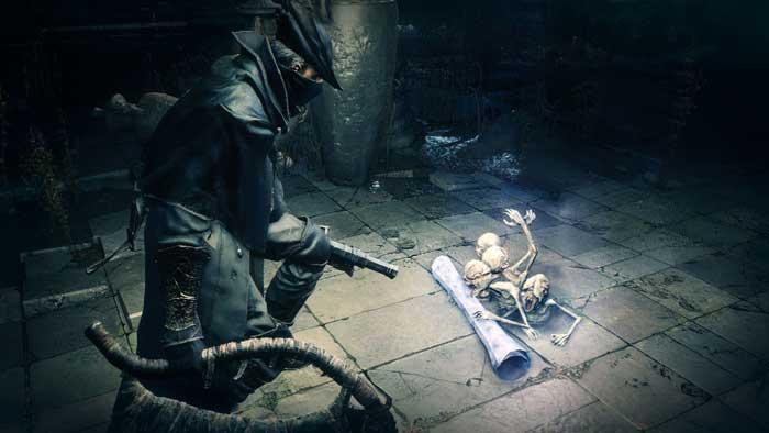 بازی Bloodborne برای پلی استیشن 4 PS4