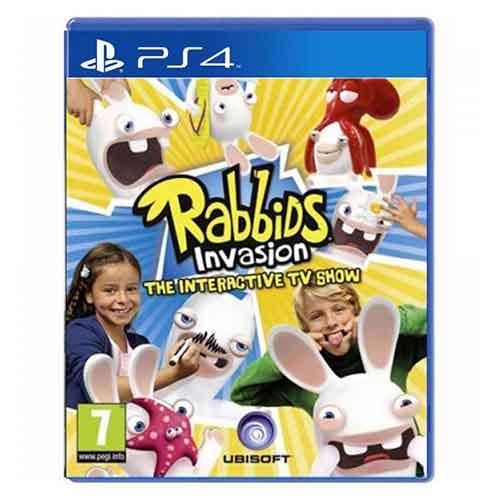بازی Rabbids Invasion : The Interactive برای پلی استیشن 4 PS4