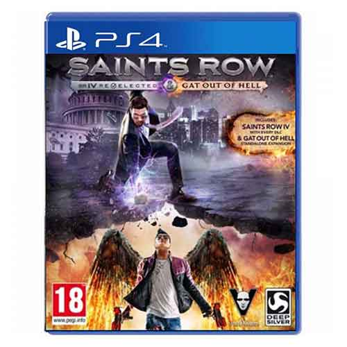 بازی Saint Row IV & Gat Out Of Hell برای پلی استیشن 4 PS4