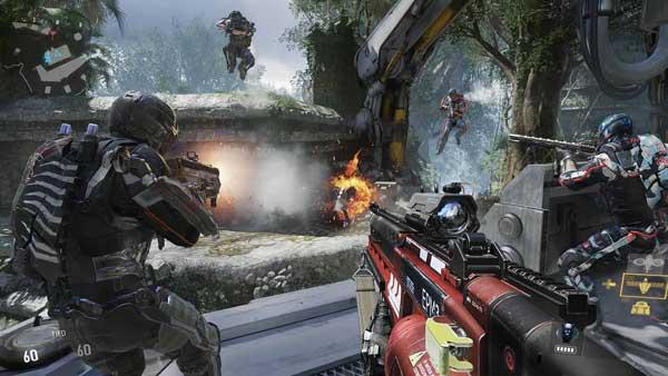 بازی Call of Duty : Advanced Warfare برای PS4