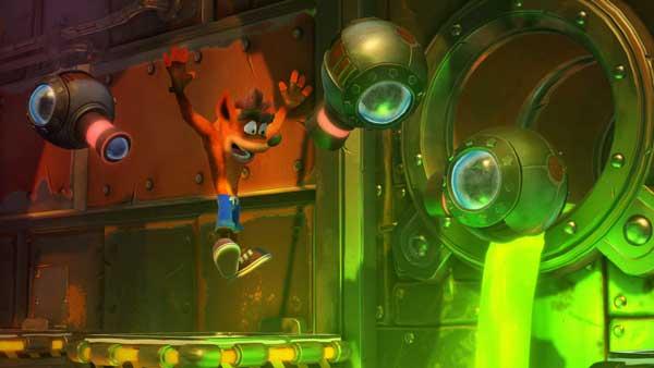 بازی Crash Bandicoot N. Sane Trilogy برای پلی استیشن 4 PS4