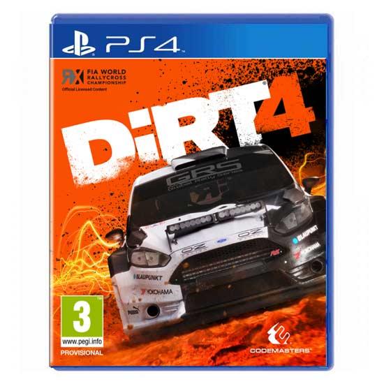 بازی DiRT 4 برای پلی استیشن 4 PS4