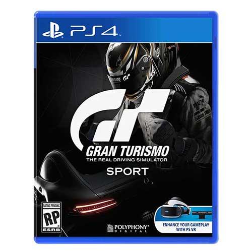 بازی Gran Turismo Sport برای پلی استیشن 4 PS4