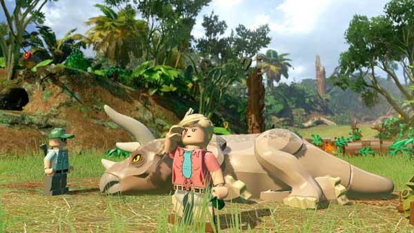 بازی LEGO Jurassic World برای پلی استیشن 4 PS4