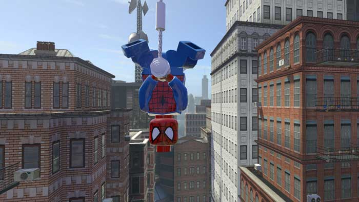 بازی LEGO Marvel Super Heroes برای پلی استیشن 4 PS4