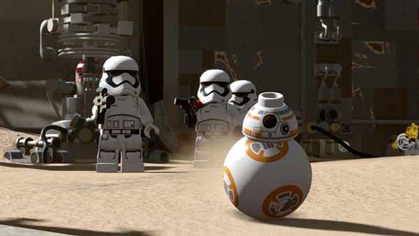 بازی LEGO Star Wars The Force Awakens برای پلی استیشن 4 PS4