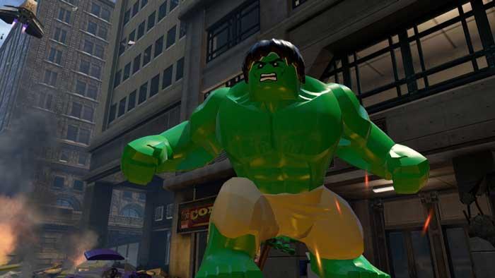 بازی Lego Marvel Avengers برای پلی استیشن 4 PS4