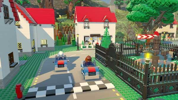 بازی Lego Worlds برای پلی استیشن 4 PS4