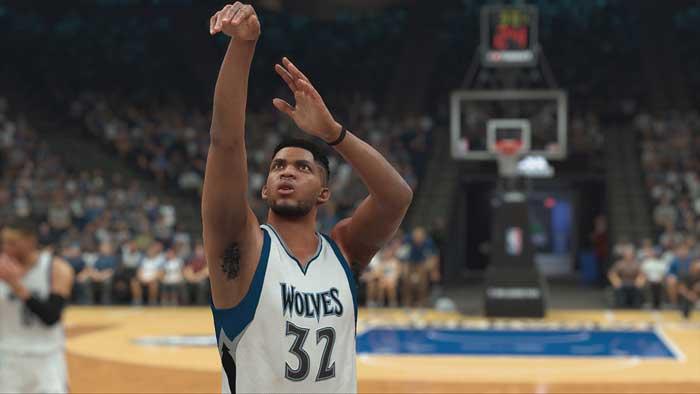 بازی NBA 2k17 برای پلی استیشن 4 PS4