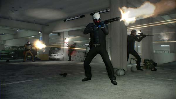 بازی PayDay 2 Crimewave Edition برای پلی استیشن 4 PS4