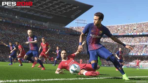 بازی PES 2018 برای پلی استیشن 4 PS4
