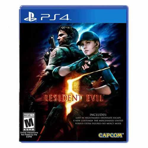 بازی Resident Evil 5 برای پلی استیشن 4 PS4