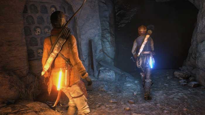 بازی Rise of Tomb Raider برای پلی استیشن 4 PS4