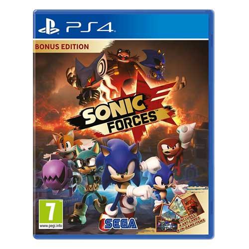 بازی SONIC FORCES BONUS سونیک فورسز بونز برای پلی استیشن 4 ps4
