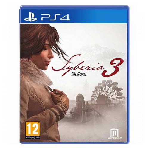 بازی Syberia 3 برای پلی استیشن 4 PS4