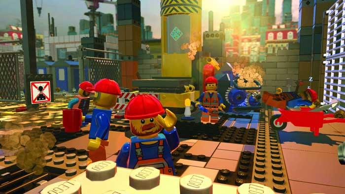 بازی The Lego Movie Videogame برای پلی استیشن 4 PS4