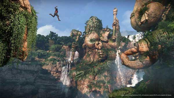 بازی Uncharted : The Lost Legacy برای پلی استیشن 4 PS4