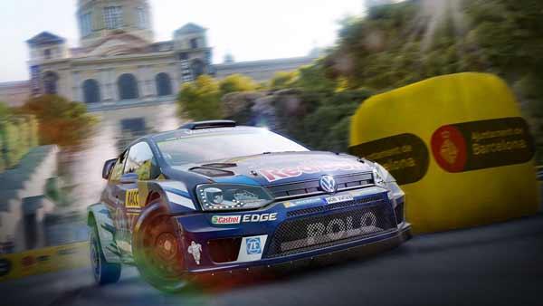 بازی WRC 6 دبلیو ار سی 6 برای پلی استیشن 4 ps4