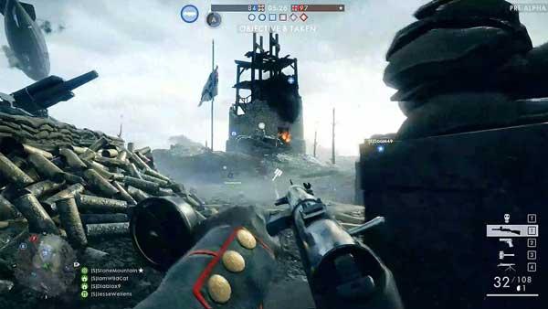 بازی Battlefield 1 برای پلی استیشن 4 PS4