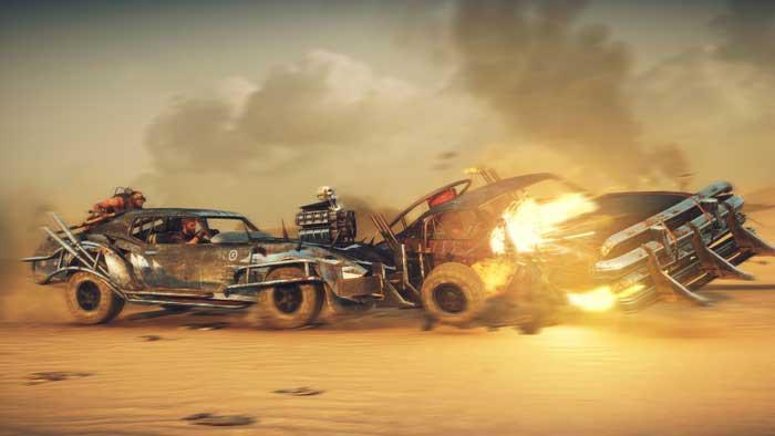 بازی Mad Max برای پلی استیشن 4 PS4