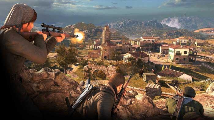 بازی Sniper Elite 4 برای پلی استیشن 4 PS4