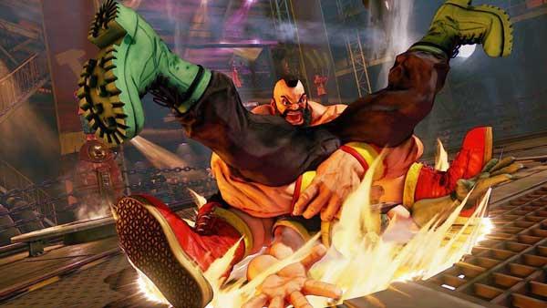 بازی Street Fighter V برای پلی استیشن 4 PS4