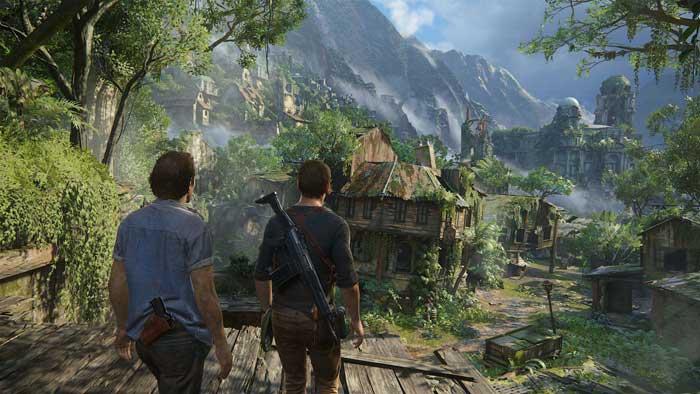 بازی Uncharted 4 A Thief's End برای پلی استیشن 4 PS4
