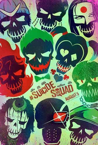 برچسب اسکین طرح Suicide Squad