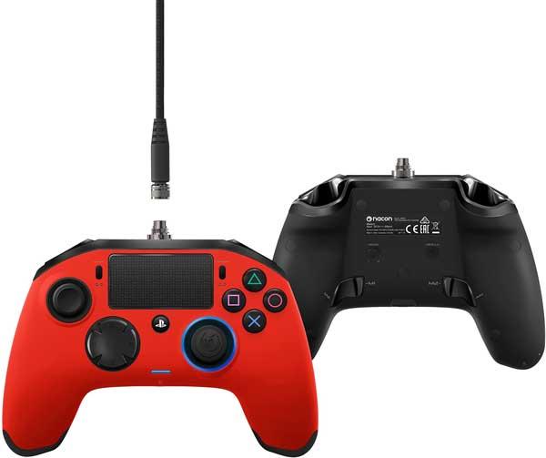 دسته ( controller ) بازي Nacon Revolution Pro برای PS4 پلی استیشن رنگ قرمز