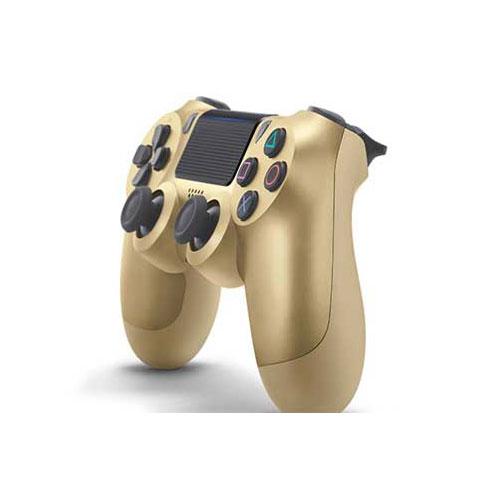دسته ( controller ) بازي DualShock 4 برای PS4 slim پلی استیشن رنگ طلایی