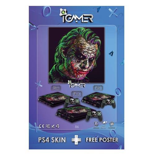 برچسب اسکین طرح Joker شماره 86