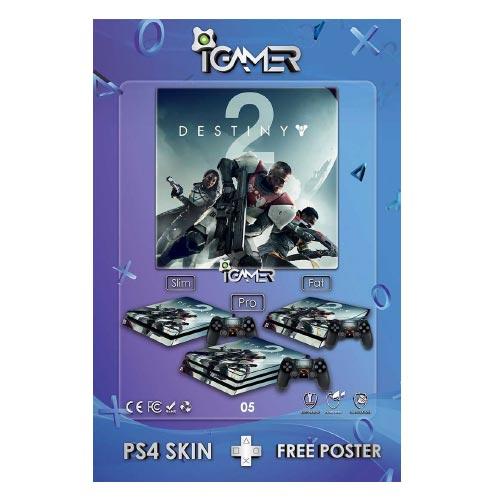 برچسب اسکین طرح Destiny 2