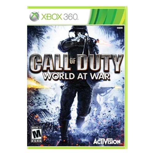 خرید بازی Call of Duty world at war ایکس باکس 360