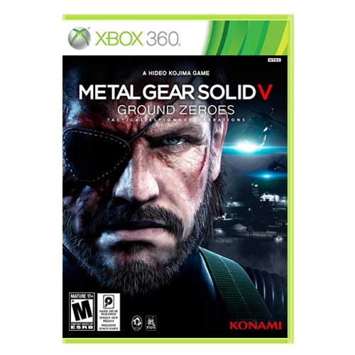 خرید بازی Metal Gear Solid V Ground Zeroes ایکس باکس 360