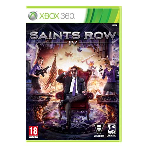 خرید بازی Saints Row IV ایکس باکس 360
