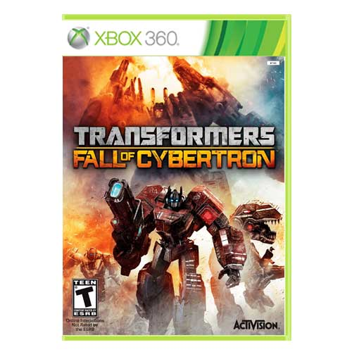 خرید بازی Transformers Fall of Cybertron ایکس باکس 360