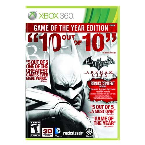 خرید بازی Batman Arkham City GOTY ایکس باکس 360