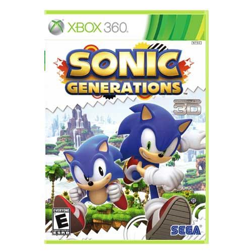 خرید بازی Sonic Generations ایکس باکس 360