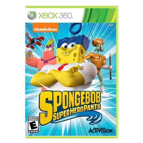 خرید بازی Spongebob Superhero Pants ایکس باکس 360