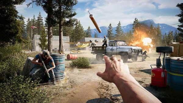خرید بازی Far Cry 5 برای ps4