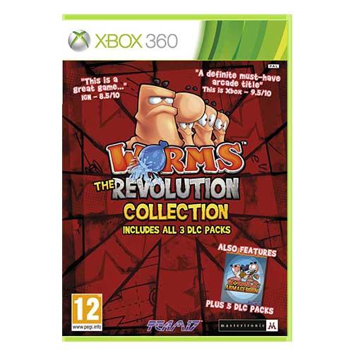 خرید بازی worms the revolution collection ایکس باکس 360