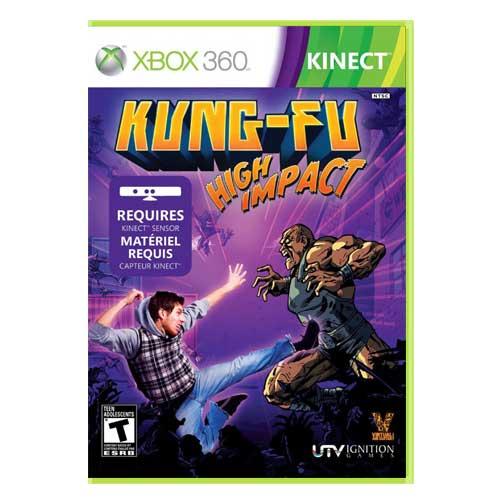 خرید بازی Kung Fu High impact ایکس باکس 360 کینکت