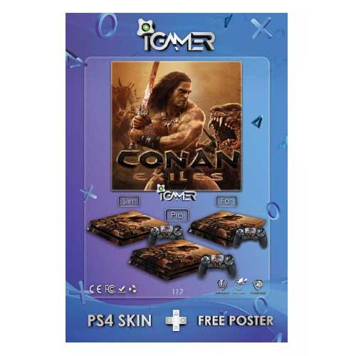برچسب اسکین طرح Conan Exiles
