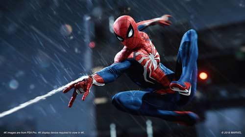 خرید بازی marvels-spider-man برای ps4